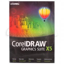 COREL DRAW Graphics Suite X5 Czech/Polish...