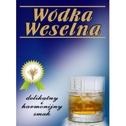 Etykiety na wódkę Delikatna