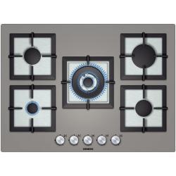Płyta gazowa Siemens EP718QB21E (70cm) szkło, tytan
