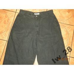Czarne spodnie męskie