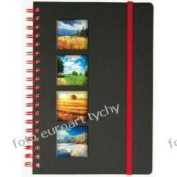 Notes A5 na spirali z gumką zeszyt notatnik notesy Kalendarze ścienne