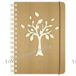 Notes B6 na spirali z gumką zeszyt notatnik notesy Adresowniki, pamiętniki