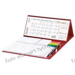 2020 kalendarz biurkowy z długopisem i notesem Reprodukcje
