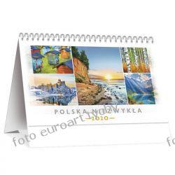 Kalendarz biurkowy miesięczny POLSKA 2020 Kalendarze książkowe