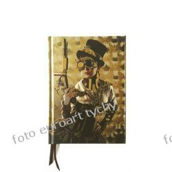 Notes Steampunk Lady Flame Tree pamiętnik notatnik Adresowniki, pamiętniki