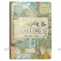 Pamiętnik A5 w złoconej oprawie notatnik Adventure Kalendarze książkowe