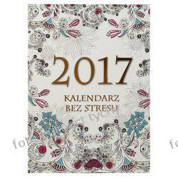 2017 Kalendarz A5 tygodniowy antystres kolorowanka Reprodukcje