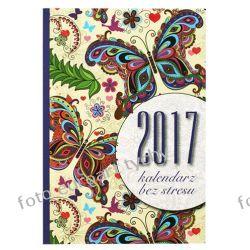 2017 Kalendarz B6 tygodniowy antystres kolorowanka Reprodukcje