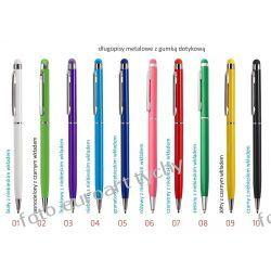 Długopisy z gumką smartfon tablet touch Adresowniki, pamiętniki