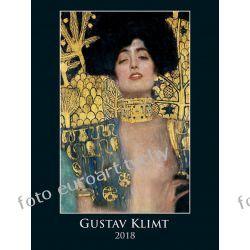 Gustav Klimt kalendarz ścienny 2018 Adresowniki, pamiętniki