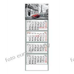2021 kalendarz czterodzielny Paryż Kalendarze książkowe