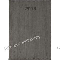 2018 terminarz B6 dzienny kalendarz szary Kalendarze książkowe