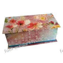 Grająca Lux szkatułka z pozytywką i mydłem Kalendarze książkowe