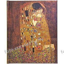 Klimt KISS notatnik Pauper Press pamiętnik notes  Kalendarze ścienne