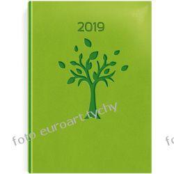 VIP Drzewo kalendarz książkowy terminarz A5 dzienny 2019 z registrami Pozostałe