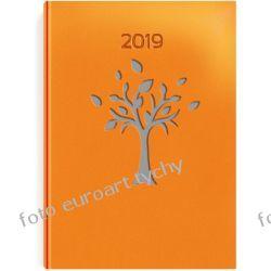 VIP Drzewo kalendarz książkowy terminarz A5 dzienny 2019 z registrami
