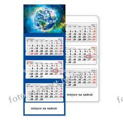 2018 Kosmos kalendarz trójdzielny z zegarem Gadżety i akcesoria