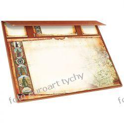 Stara Mapa biuwar planer exclusive brązowy Kalendarze ścienne