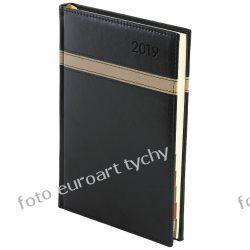 Terminarz A4 Lux dzienny 2019 z registrami sob. niedz. osobno Kalendarze książkowe