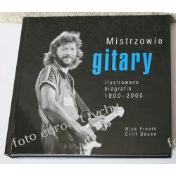 Album Mistrzowie gitary oprawa twarda obwoluta Kalendarze książkowe