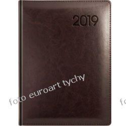 Kalendarz Lux kieszonkowy 2019 w ekoskórze Adresowniki, pamiętniki
