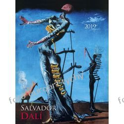 Salvator Dali kalendarz ścienny 13 plansz 2019 Kalendarze książkowe