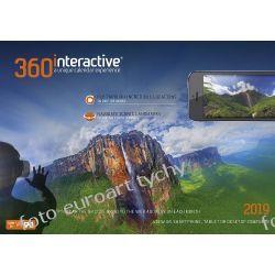 Panorama 360 Interactive kalendarz ścienny 13-planszowy 2019 Adresowniki, pamiętniki