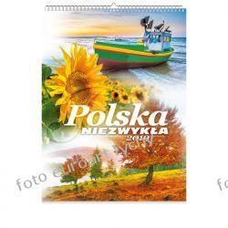 Polska niezwykła kalendarz na 2019 Kalendarze książkowe