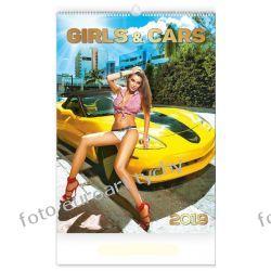 Girls and cars kalendarz na 2019 Kalendarze książkowe