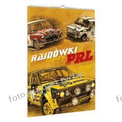 Kalendarz 13-planszowy POLSKIE RAJDÓWKI na 2019 Kalendarze książkowe