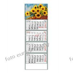 2021 kalendarz czterodzielny Słoneczniki Pozostałe
