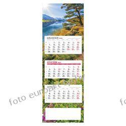 2021 kalendarz trójdzielny PANORAMICZNY
