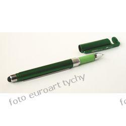 4 in 1 długopis z gumką do smartfonu tabletu ze ściągą Biuro i Reklama