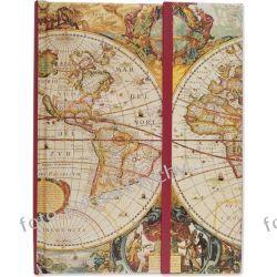 Old Maps notatnik Pauper Press pamiętnik Kalendarze książkowe