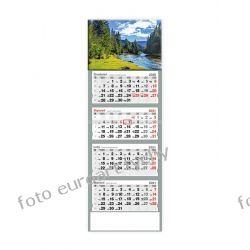 2021 kalendarz czterodzielny Beskidzka rzeka Kalendarze książkowe