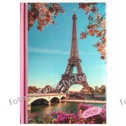 2020 kalendarz A5 tygodniowy terminarz Paryż Kalendarze książkowe