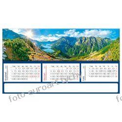 2021 kalendarz GÓRY trójdzielny panoramiczny Kalendarze książkowe
