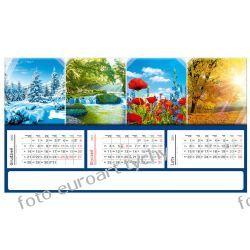 2021 kalendarz trójdzielny panoramiczny Kalendarze książkowe