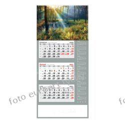 2021 kalendarz trójdzielny duży Jesień Kalendarze książkowe
