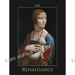 2021 Renesans kalendarz ścienny 13 plansz Kalendarze ścienne