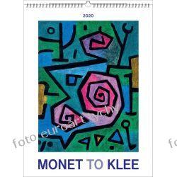 Monet to Klee kalendarz ścienny 13 plansz 2020