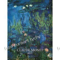 2021 Claude Monet kalendarz ścienny 13 plansz Adresowniki, pamiętniki