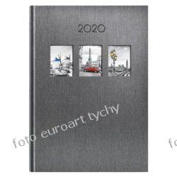 VIP kalendarz książkowy Okno Zen terminarz A5 dzienny 2020 z registrami Kalendarze książkowe