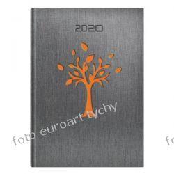 VIP kalendarz książkowy Drzewo terminarz A5 dzienny 2020 z registrami Gadżety i akcesoria