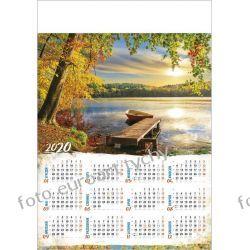 2020 kalendarz Jezioro ścienny B1 Kalendarze ścienne