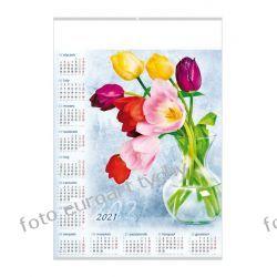 2021 kalendarz Tulipany ścienny B1 Pozostałe