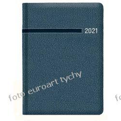 2021 terminarz A4 tygodniowy notesowy niebieski Kalendarze ścienne