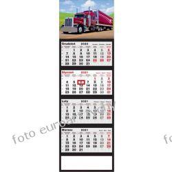 2021 kalendarz 4-dzielny Truck Pozostałe