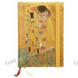 Notes Klimt Kiss notatnik B6 z gumką pamiętnik Adresowniki, pamiętniki