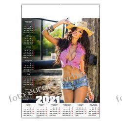 2021 kalendarz B1 Rodeo sexy ścienny